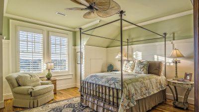 Riposarsi in una camera da letto per due