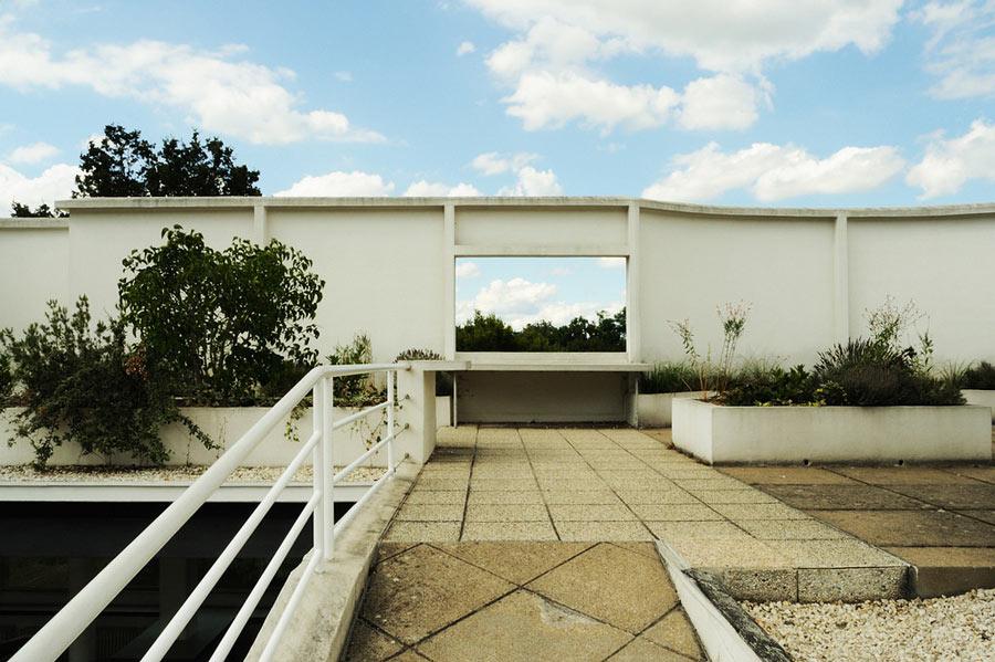 Interni Di Villa Savoye : Villa con vista acciaio arte architettura