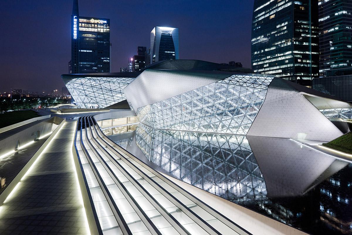 Guangzhou Opera House in Cina