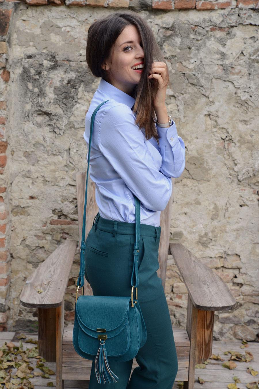 migliori marche ottimi prezzi completo nelle specifiche Camicia azzurra: trend 2016