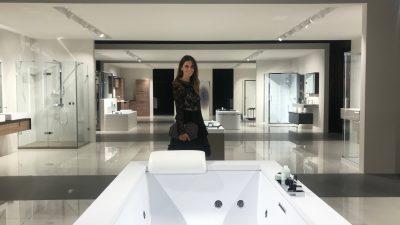 Novellini: l'apertura del primo showroom stupisce tutti