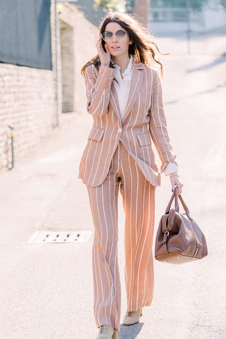 tailleur righe Beatrice B