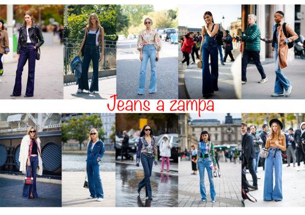 JEANS A ZAMPA MODA 2020